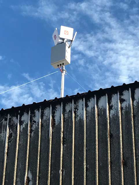 G Spotter Maxi gain WiFi Antennas Repeating fast  internet around yards